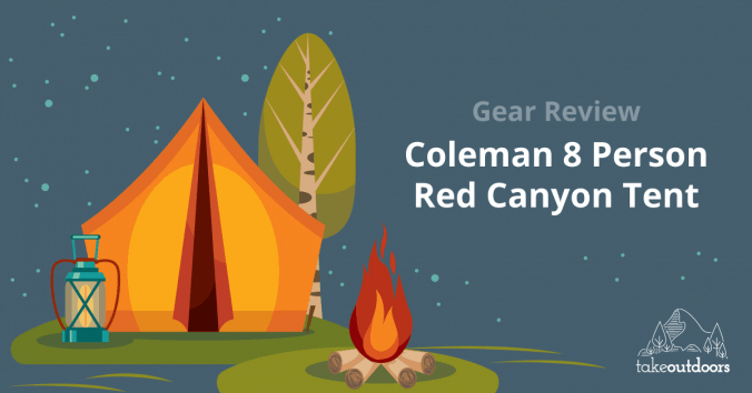 Featured Image of Coleman 8 Person Red Canyon Tent