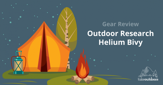 Featured Review Image of Outdoor Research Helium Bivy
