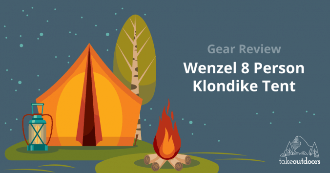 Featured Image of Wenzel 8 Person Klondike Tent