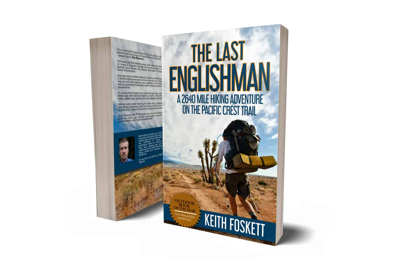 Cover page for The Last Englishman by Keith Foskett
