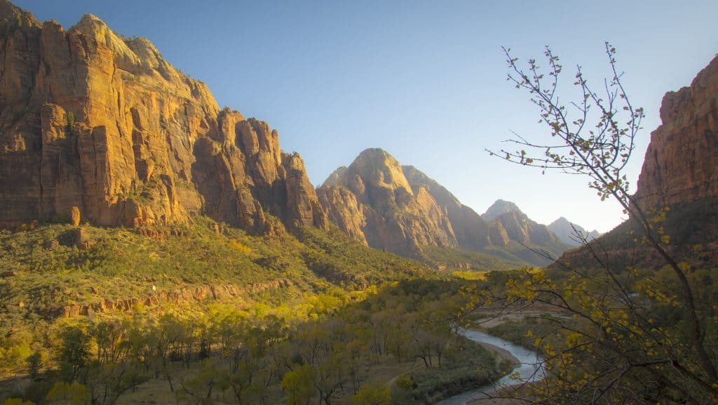Valley of the Virgin by Thomas