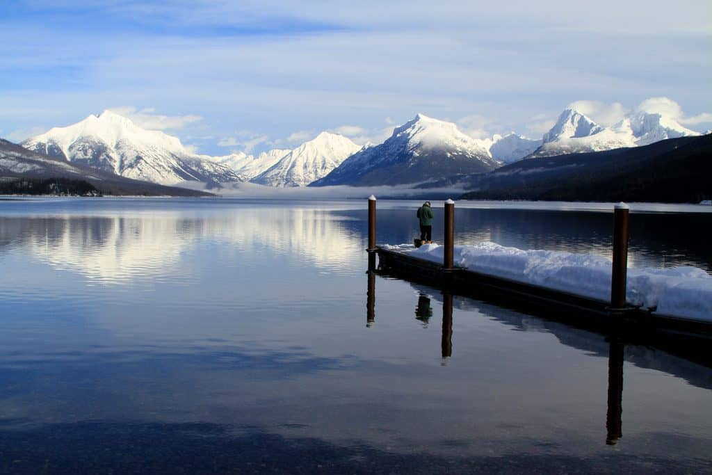 Lake McDonald at Glacier National Park