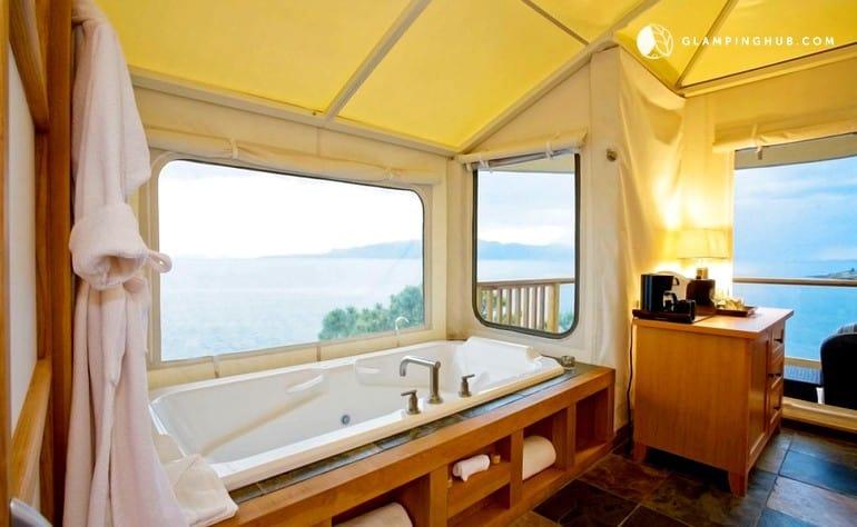 Stunning Luxury Tent Site in British Columbia