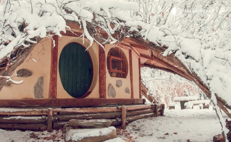 Unique and Eco-Friendly Hobbit-Themed Rental in Quebec, Canada - Glamping Hub