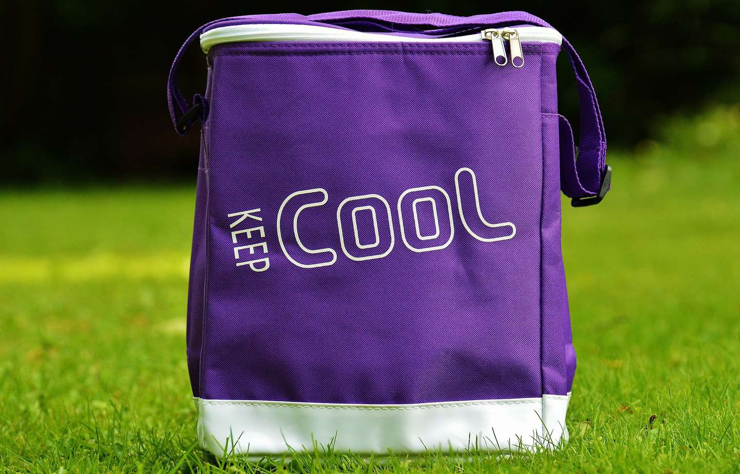 Cooler Bag with a Keep Cool Sign