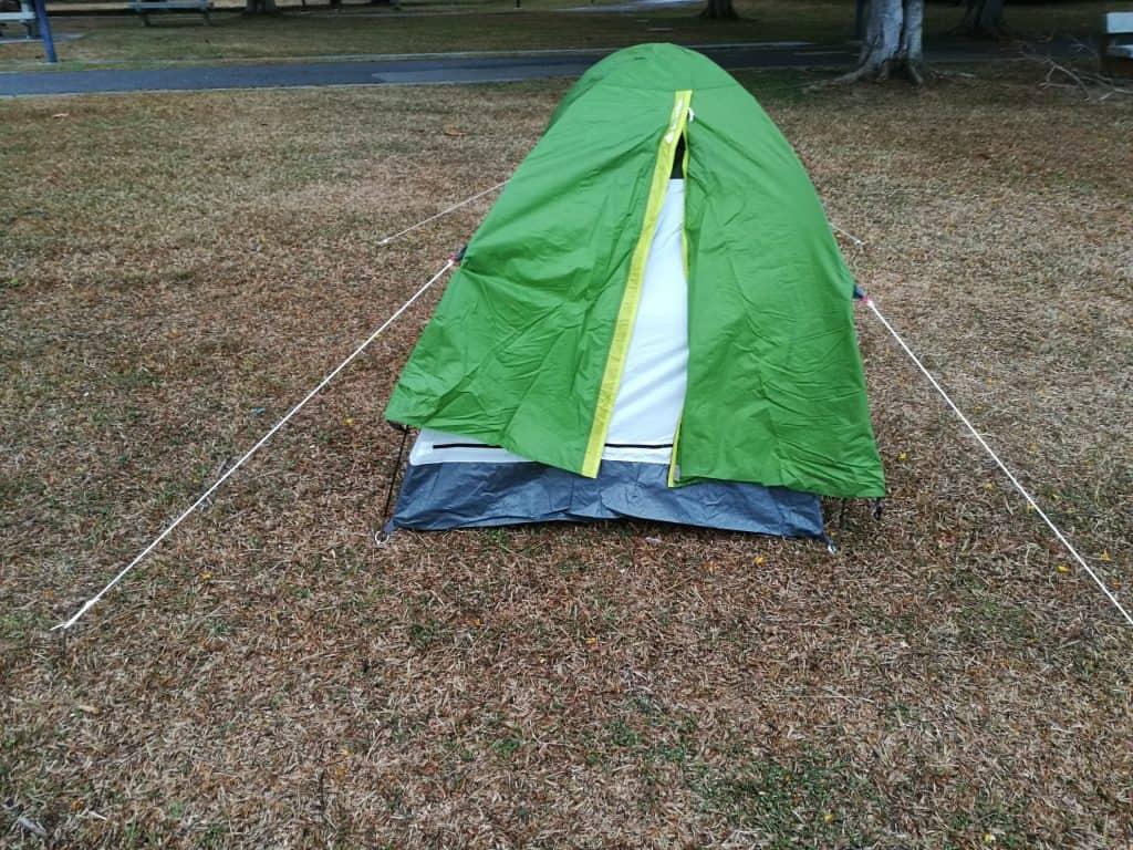 A humble tent