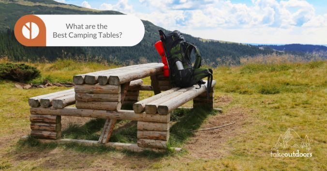 Featured Image for Best Camping Tables