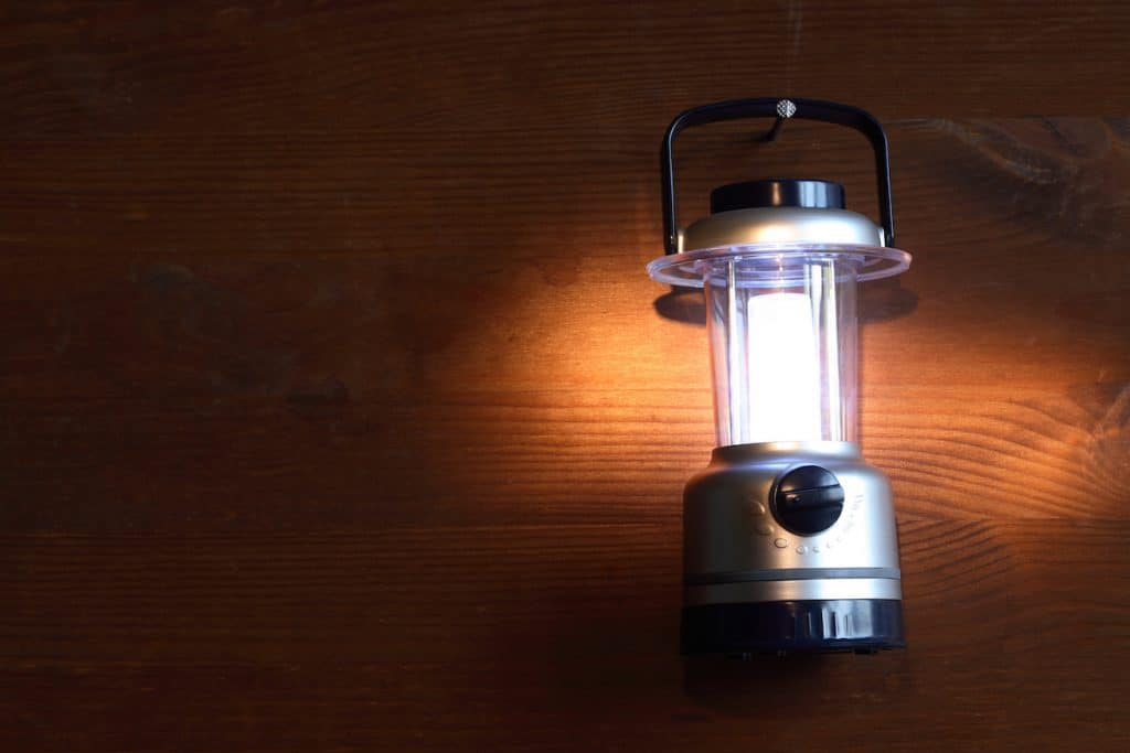 battery powered camping lantern