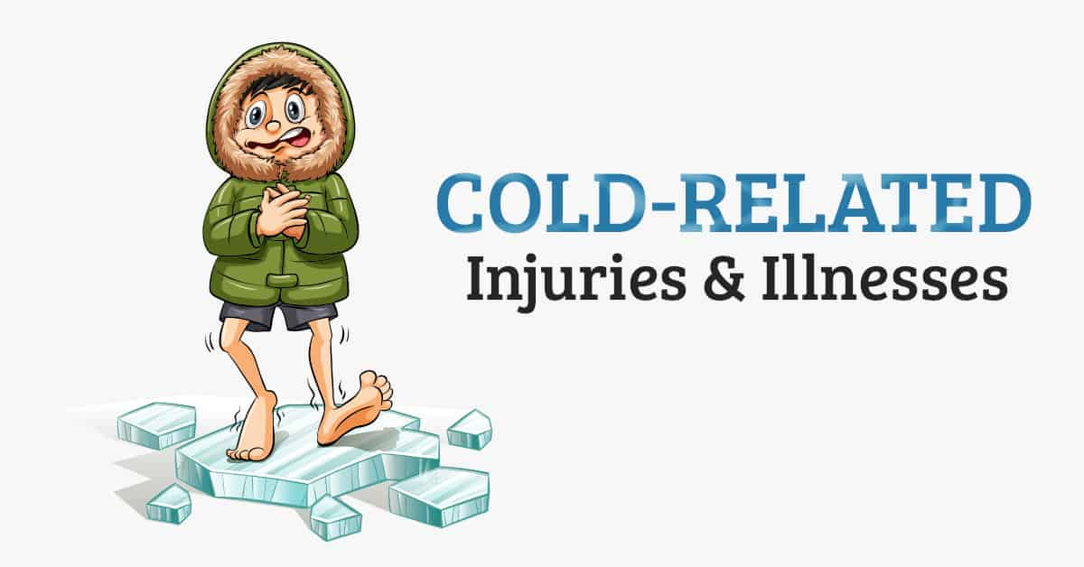 Cold related injuries and illnesses header