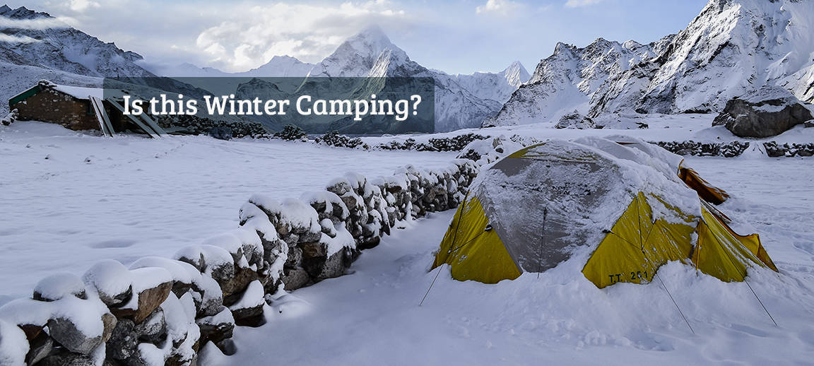 Header Image for What is Winter Camping