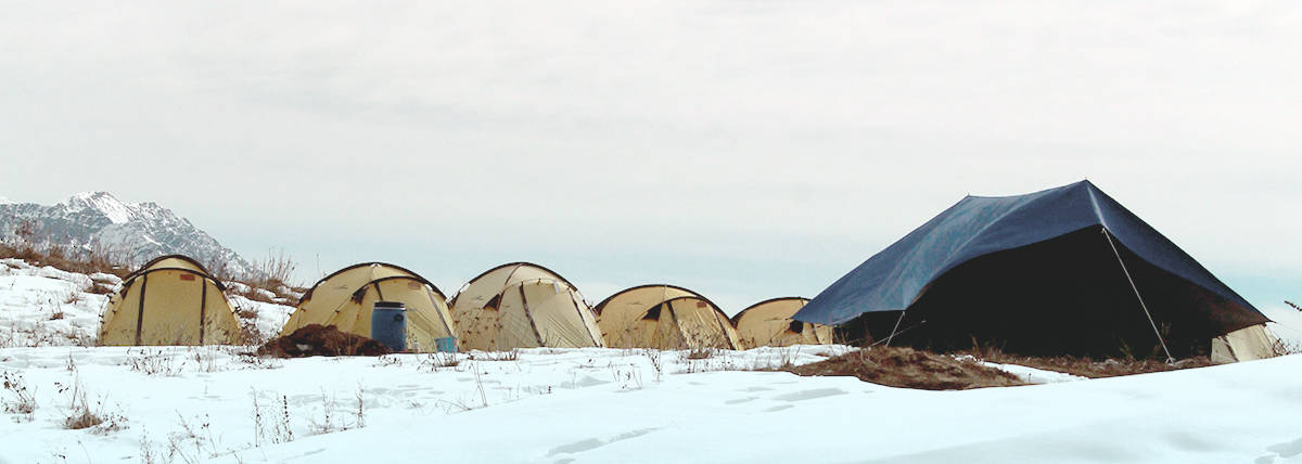 Header Image for Winter Tents