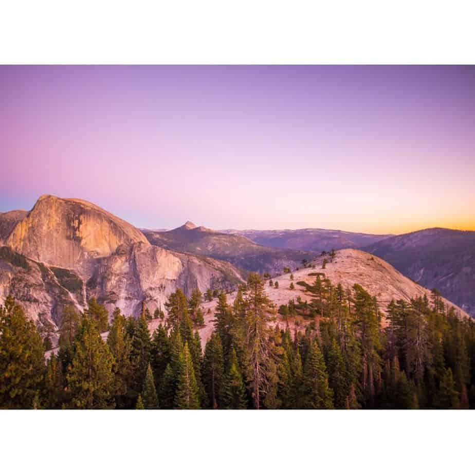 View from North Dome Trail by Anish Mittal