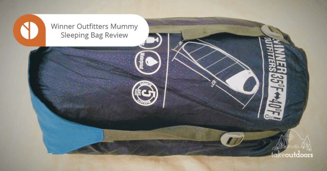 Featured Image of Winner Outfitters Mummy Sleeping Bag Review