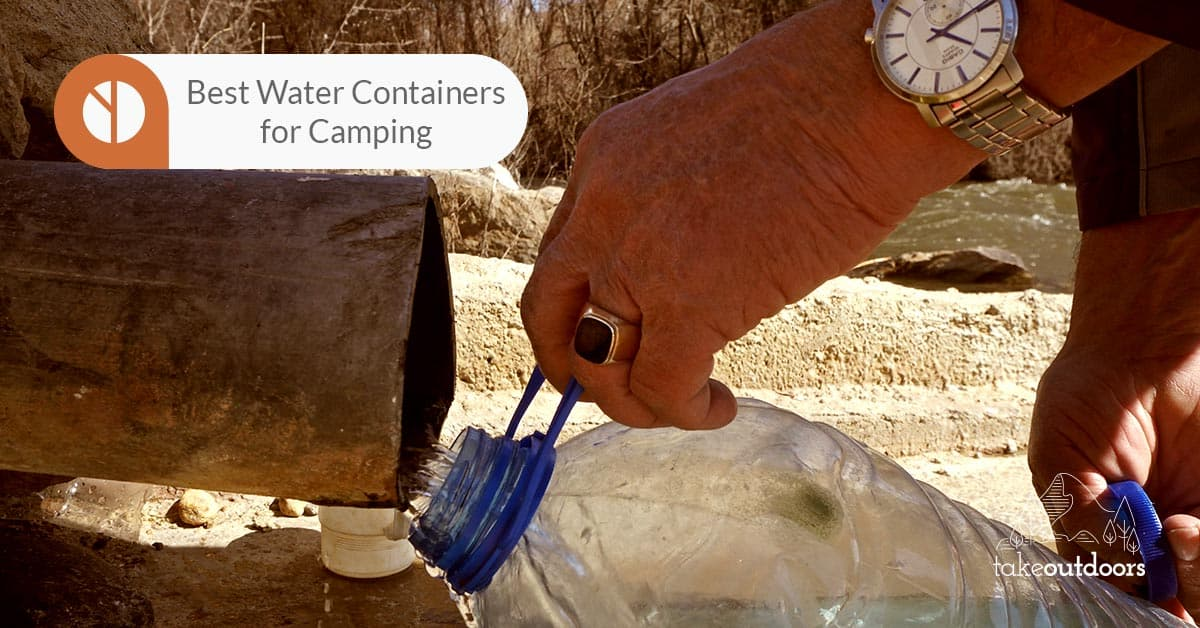 Featured Image for Best Water Container for Camping